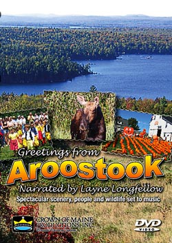 Postcard featuring beautiful Aroostook Scenes