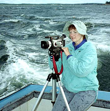 Brenda at sea